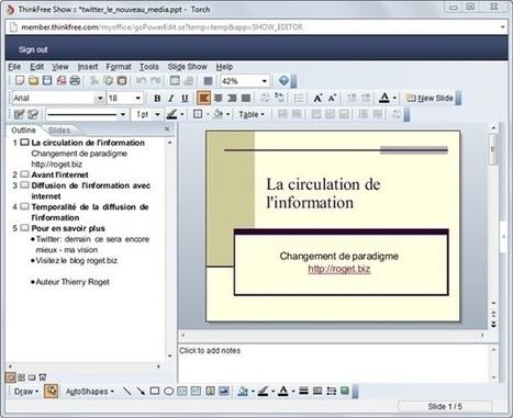 10 alternatives pour se passer de Powerpoint (en ligne ou en solutions logicielles) | François MAGNAN  Formateur Consultant | Scoop.it