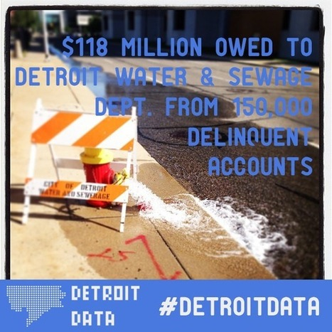Data: Water Shutoffs and Delinquent Accounts in Detroit   Detroit   Scoop.it