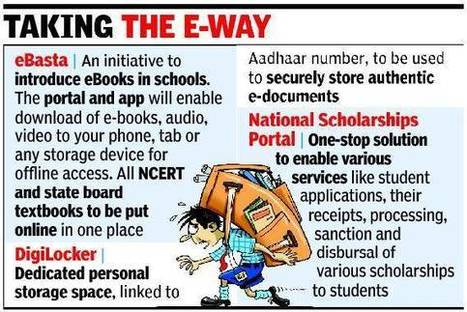 'Digital India' initiative to take books, certificates & IDs online - Times of India | India | Scoop.it