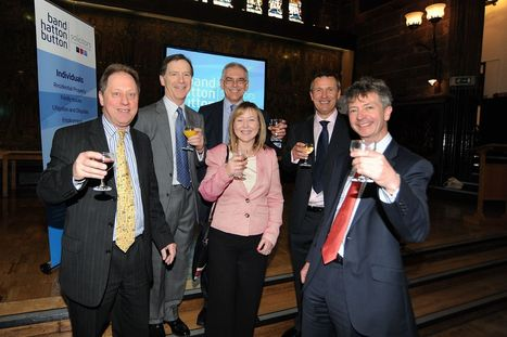 Launch of Coventry's largest law firm Band Hatton Button celebrated at St Mary's Guildhall | Law firm management | Scoop.it