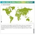 2014-2015 Global Food Policy Report: Map and Data Widget | Development, agriculture, hunger, malnutrition | Scoop.it