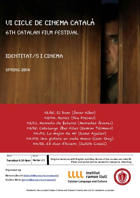 6th edition of the Catalan Film Festival | The UMass Amherst Spanish & Portuguese Program Newsletter | Scoop.it
