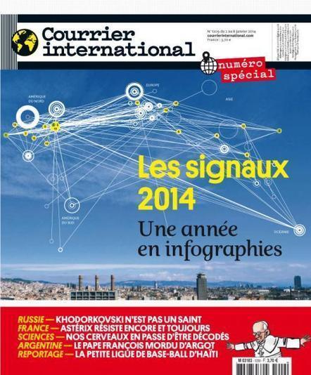 Courrier international : 2014 en infographies | Innovation sociale, nouvelles pratiques numériques et environnement | Scoop.it