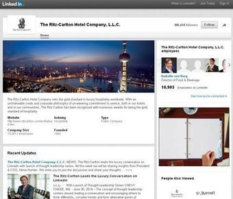 Ritz-Carlton starts LinkedIn conversations to generate digital relationships- Luxury Daily- Internet   luxe and digital   Scoop.it