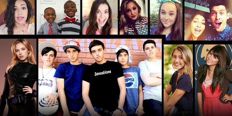 Meet the stars of YouTube's teen empire | Social  and Web TV | Scoop.it