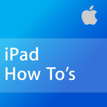 iPad How To's | Apple Devices in Education | Scoop.it