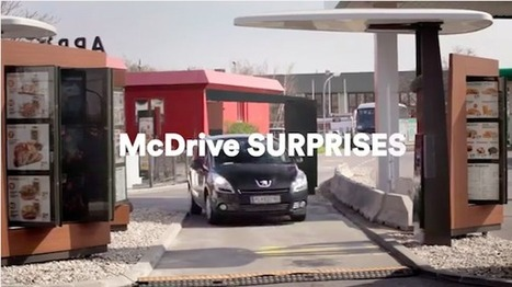 En Autriche, McDonald déguise ses employés du McDrive pour surprendre ses clients | Luxury Cömārk | Scoop.it