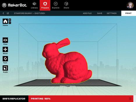 MakerBot Desktop Update 3.2.1 is Out - 3D Printing Industry | 3D Printing Industry | Scoop.it