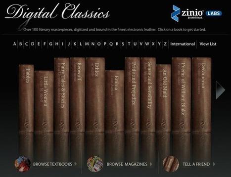 Digital Classics | Ray's Book Stuff | Scoop.it