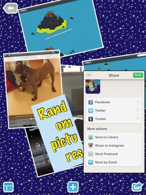 Pic Collage - Quickly Create a Poster on Your iPad | idevices for special needs | Scoop.it