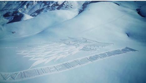 Un Snow Stunt Pour Annoncer L'arrivée De La Saison 6 De Game Of Thrones | The Rabbit Hole | Communication transmédia | Scoop.it