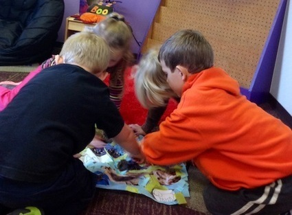 Spanish Words: Collage, Story and Craft to Teach Veo | Teaching Languages and Technology | Scoop.it