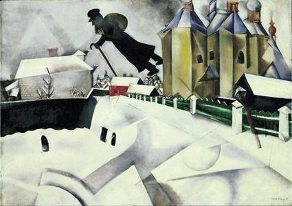 Le génie du jeune Chagall   Le sens de votre vie   Scoop.it