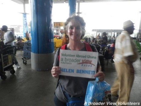 "Feedback Helen Bennett Volunteer in Kasoa, Ghana Health Care Program | ""#Volunteer Abroad Information: Volunteering, Airlines, Countries, Pictures, Cultures"" 