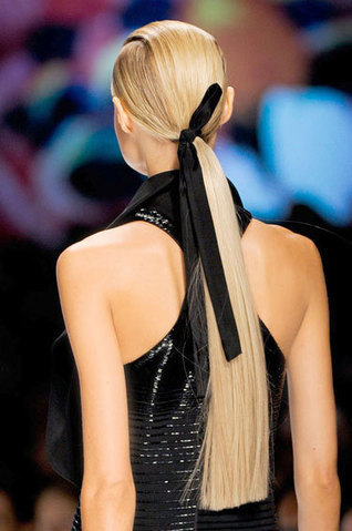 Hair Trends Spring 2013: The New Low Pony | Hair Extensions | Hair Extensions Product and Supplies | Scoop.it