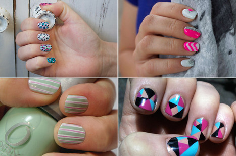 Festival Nail Art: Dance The Summer Away With These Bright And Quirky Designs - Marie Claire.co.uk | Nails, Beauty, Fashion, Hersham | Scoop.it