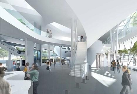 Vitrolles : La nouvelle médiathèque, un monument pour la ville ! | Trucs de bibliothécaires | Scoop.it