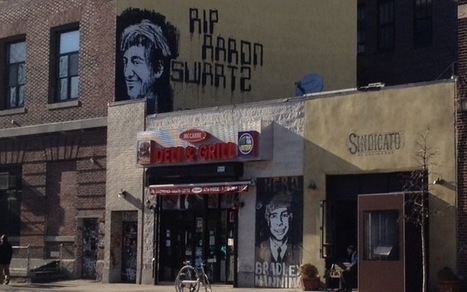 Aaron Swartz & Bradley Manning street art: Are free information icons a good thing? | World of Street & Outdoor Arts | Scoop.it