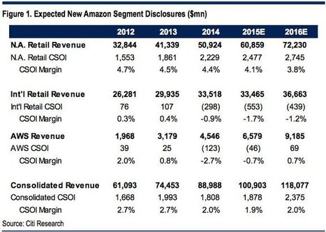Amazon Web Services will lose money on $6.6 billion in revenue this year, says analyst | Future of Cloud Computing | Scoop.it