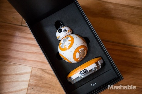 Hands on with the incredible Star Wars BB-8 by Sphero | Robolution Capital | Scoop.it