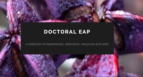 Doctoral EAP | The EAP Practitioner | Scoop.it