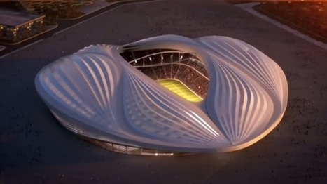 The design for Qatar's first World Cup stadium looks like a vagina | D_sign | Scoop.it