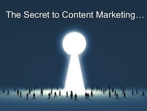 The Secret to Content Marketing You Already Know… | Business in a Social Media World | Scoop.it