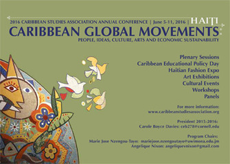 Caribbean Studies Association : Annual Conference 2016 JUNE 5-11, 2016<br/>Port-au-Prince, Haiti | Cara&iuml;be 2.0 | Scoop.it