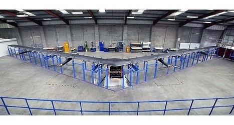 Facebook dévoile son drone solaire pour connecter l'ensemble de la planète à Internet   innovation, tendances, futur   Scoop.it