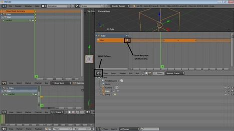 Open Source Can Do: Make Games Animation List On Blender 3D | Open Source | Scoop.it