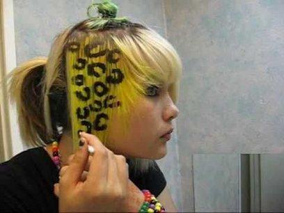 how to do cheetah / lepard print hair   2am Traffic Blog   Scoop.it