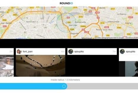 Roundio. Ce que les gens autour de vous postent sur Instagram ou Flickr | Les outils de la veille | Les outils du Web 2.0 | Scoop.it