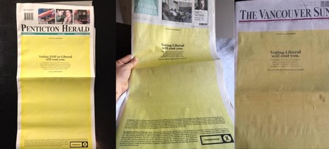 YELLOW STAIN: The bystander bigotry of newspaper endorsements | Canada and its politics | Scoop.it