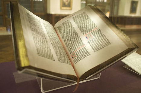 7 Things You May Not Know About the Gutenberg Bible | TJMS World History | Scoop.it
