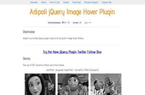 25 Fresh and Extremely Useful jQuery Plugins | Diseño | Scoop.it