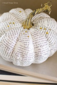 Bookish Pumpkins :: Part One | Creativity in the School Library | Scoop.it