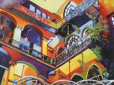Exposition de peinture de Djahida Houadef à la villa Abdeltif : Offrande au pays du Cèdre   El Watan (Algérie)   Kiosque du monde : Afrique   Scoop.it