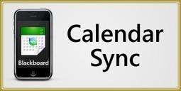 Sync Blackboard Calendar | EdTech Connection | Education Technology | Scoop.it