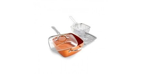 Buy Copper Chef Set with Lid & Attachments At Tbuy.in | BEST ONLINE SHOPPING IN INDIA | Scoop.it