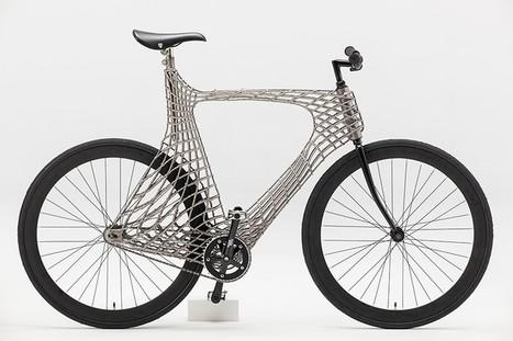 Arc Bike : un vélo urbain au cadre imprimé en 3D | Chasseurs de cool | Vous avez dit Innovation ? | Scoop.it