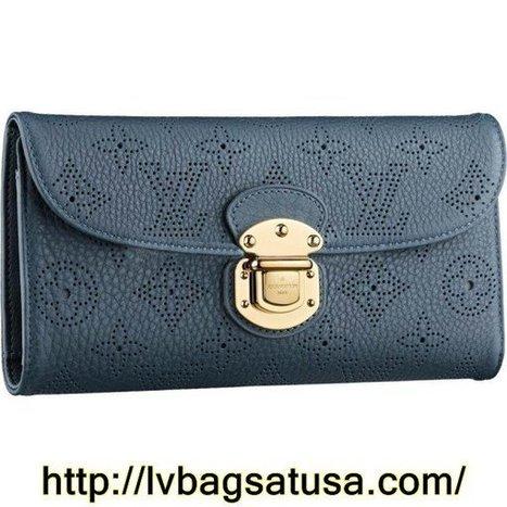 Louis Vuitton Amelia Wallet Mahina Leather M58133 | Cheap Sale Louis Vuitton Factory Outlet Online | Scoop.it