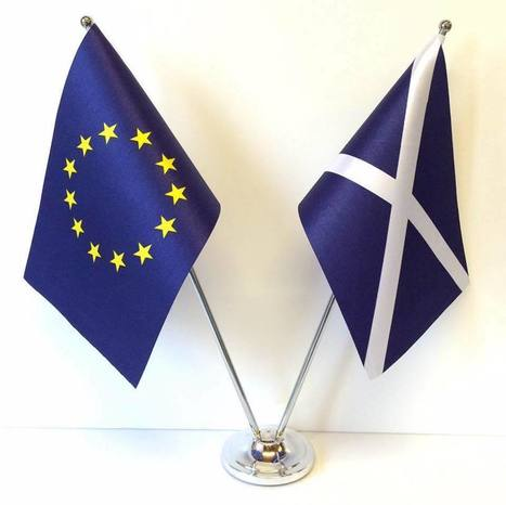 Two blue flags | Politics Scotland | Scoop.it