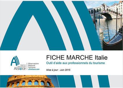 Observatoire Tourisme - Alsace - Fiche Marché Italie 2015   Le site www.clicalsace.com   Scoop.it