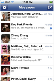 Facebook counters Google+ chat feature with Messenger for iPhone | Social Networking | Macworld | Social Media Updates | Scoop.it