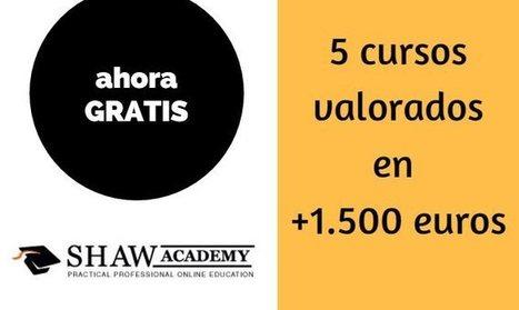 Cursos de Shaw Academy, valorados en más de 1.500 euros, y que puedes hacer gratis | desdeelpasillo | Scoop.it