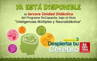 Despierta tu cerebro: Inteligencias Múltiples y Neurodidáctica | #TuitOrienta | Scoop.it