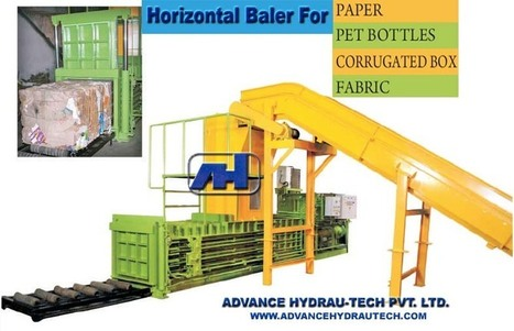 Horizontal Balers or Vertical Balers : Customization Design to Fit All Baling Needs | Advance Hydrautech | Scoop.it