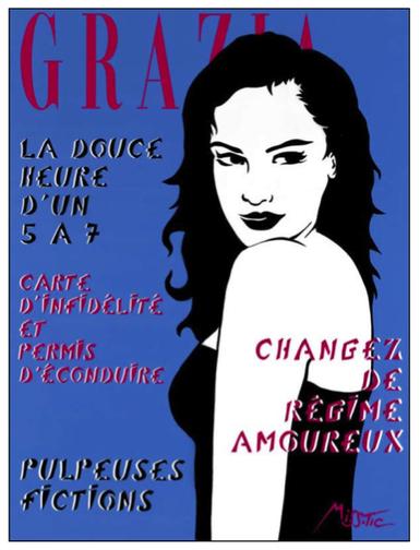 Exposition de Miss.Tic - Les Uns et les Unes - Street Art Paris - du 13 mai au 8 juin 2014 | Expositions parisiennes | Scoop.it