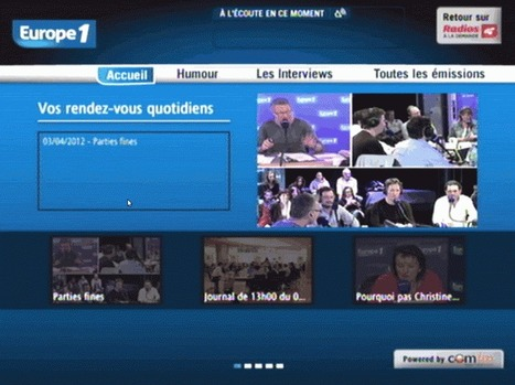 La Neufbox d'SFR propose la catch-up d'Europe 1 dans son offre TV | technic2radio.fr | Radio 2.0 (En & Fr) | Scoop.it