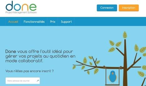 Done. Vos projets au quotidien en mode collaboratif - Les Outils Collaboratifs | Les outils du Web 2.0 | Scoop.it